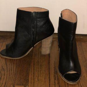 H&M open toe booties